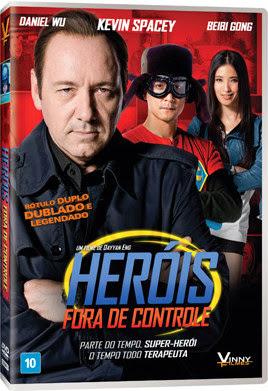 Filme Poster Heróis Fora de Controle DVDRip XviD Dual Audio & RMVB Dublado