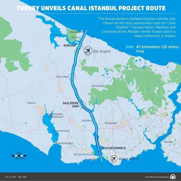 Τι όνειρο είδε ο Ερντογάν; To «Κανάλι της Κωνσταντινούπολης» | HuffPost  Greece