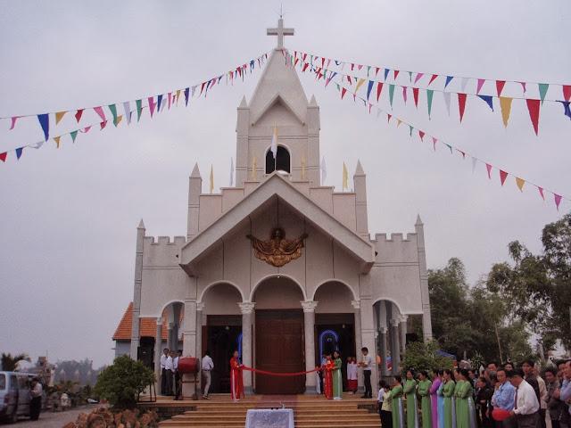 Thánh lễ làm phép nhà thờ Phụ Ngọc