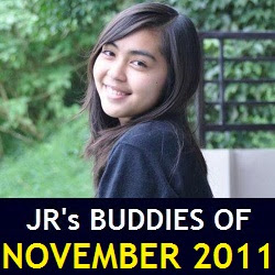 JR's Buddies of November 2011