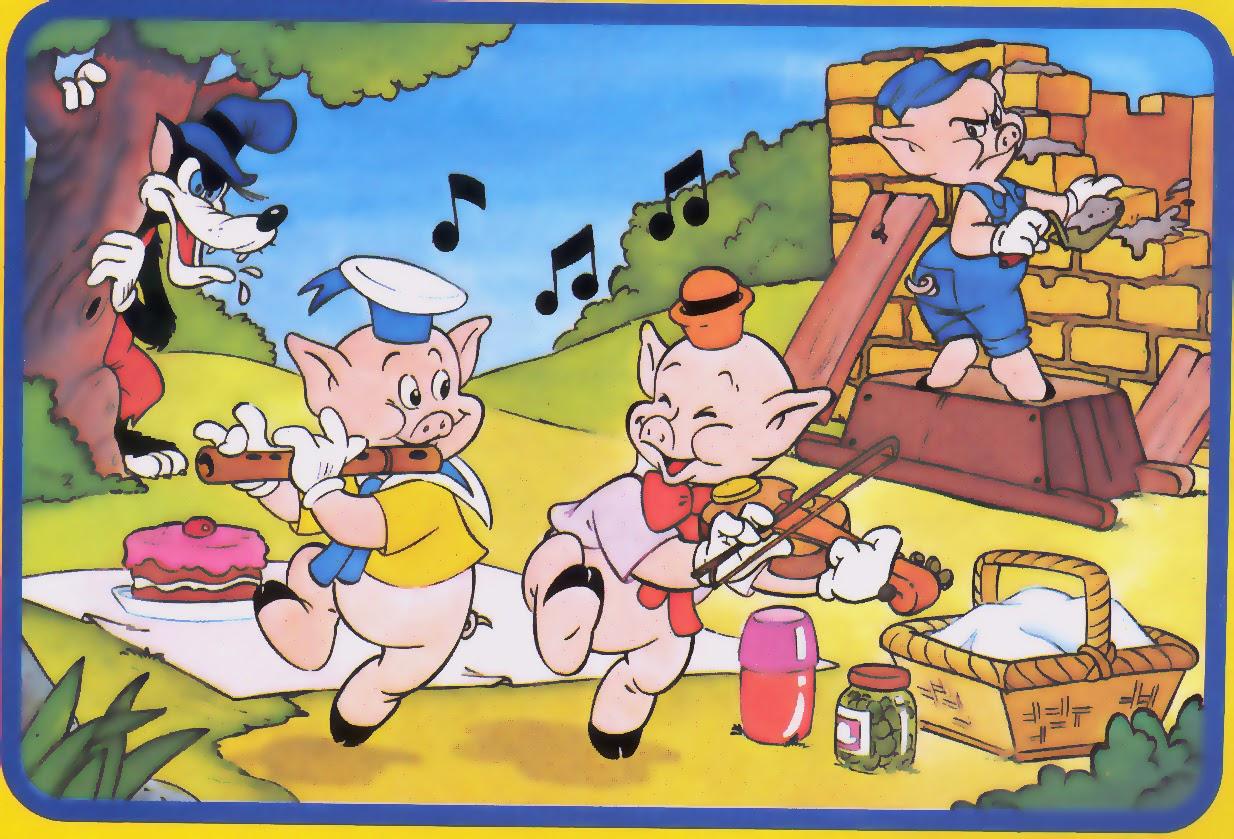 3-porquinhos