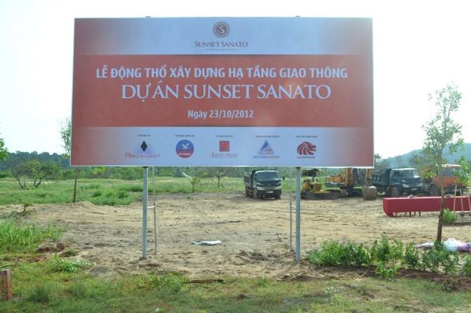 Lễ động thổ Sunset Sanato