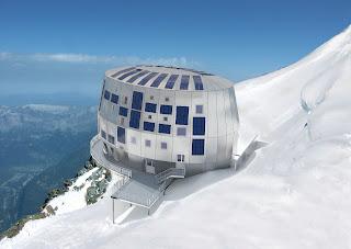 Construction écologique sur le Mont-blanc