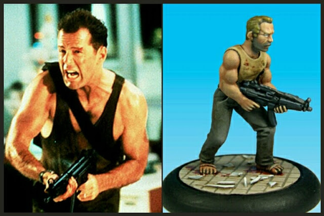 John McClane Studio miniatures