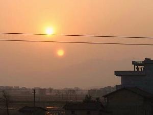 Misteri Matahari Kembar di China