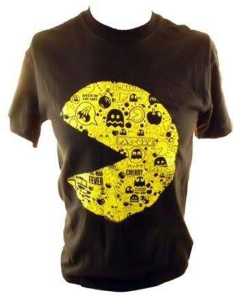 51JVwRzuqRL. SX342  Top 20 PAC Man Gaming Shirts