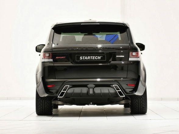 2014 Startech Range Rover Sport - Rear