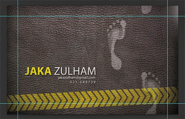 Kartu nama Jaka Zulham