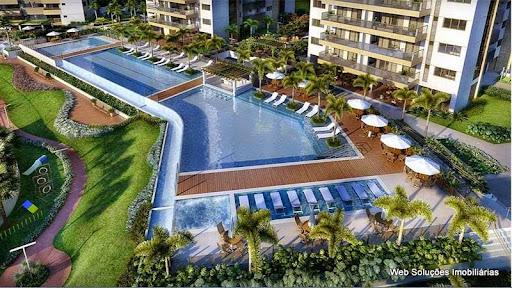 Saint Michel - Ilha Pura - Apartamento 3 e 4 quartos e Cob. Duplex com vista privilegiada para a lagoa na Barra da Tijuca