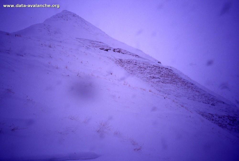 Avalanche Mont Thabor, secteur Punta Bagna, Piste de Roche 1 - Photo 1