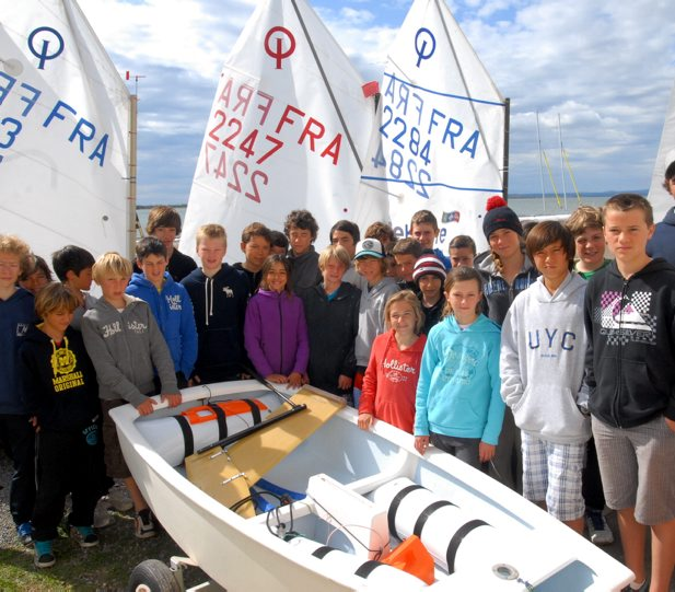 Stage national Team RACE POP Narbonne la Nautique Optimist voile