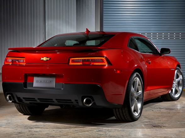 2014 Chevrolet Camaro SS - Rear Side