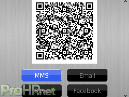 QR Code v2.0.3 for BlackBerry Apps