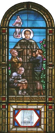 La vetrata di Don Bosco del Duomo