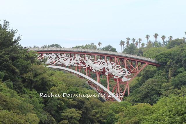 A shot of part of the bridge