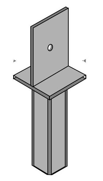 Muebles domoticos herrajes complementos y fijaciones for Bases para pergolas