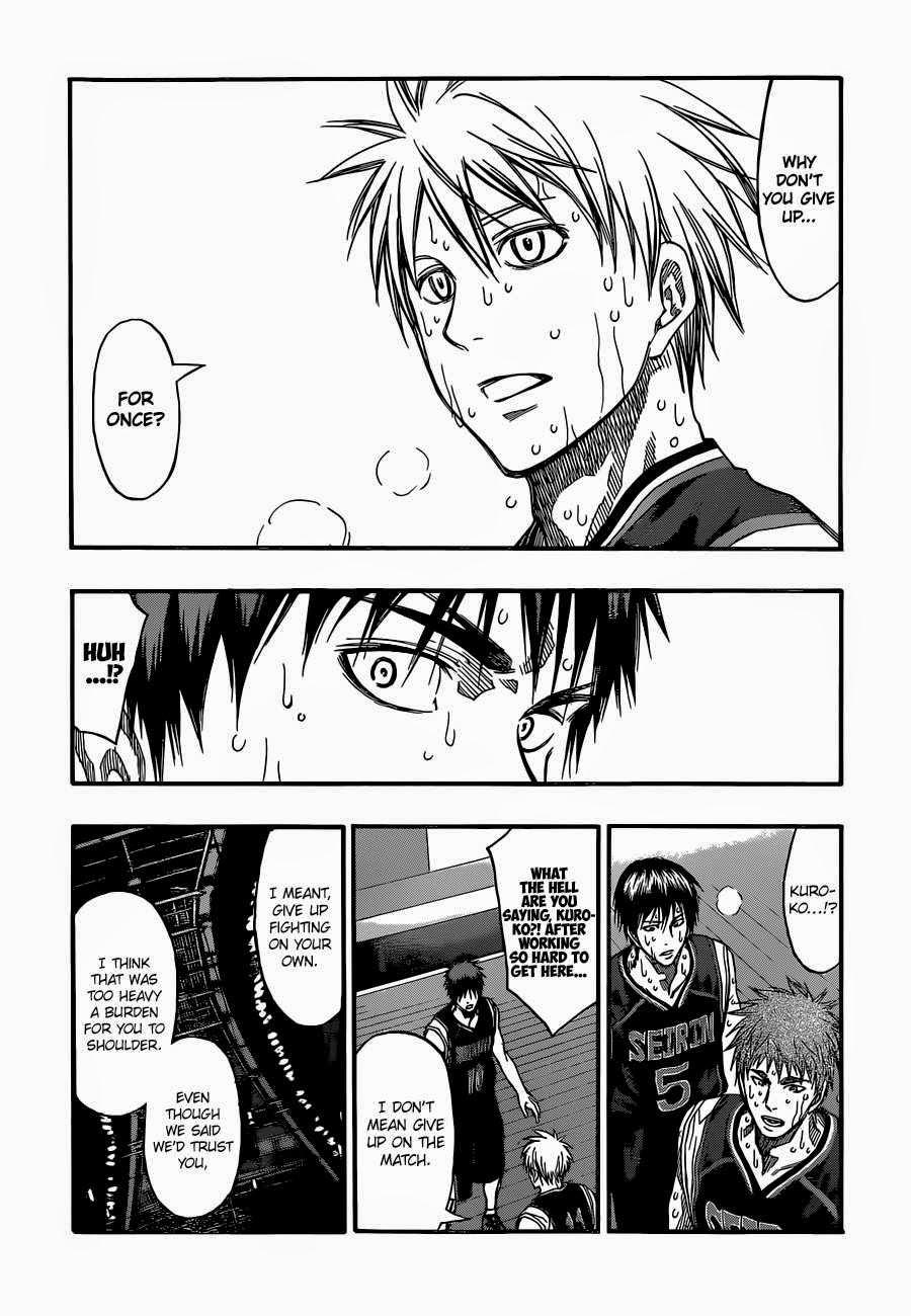 Kuroko no Basket Manga Chapter 262 - Image 16