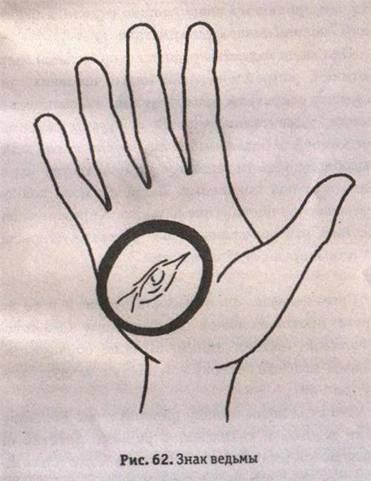 Ведьмин знак своими руками