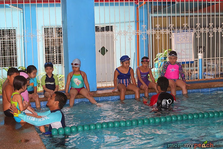Ykaie's Swimming Lessons 2014