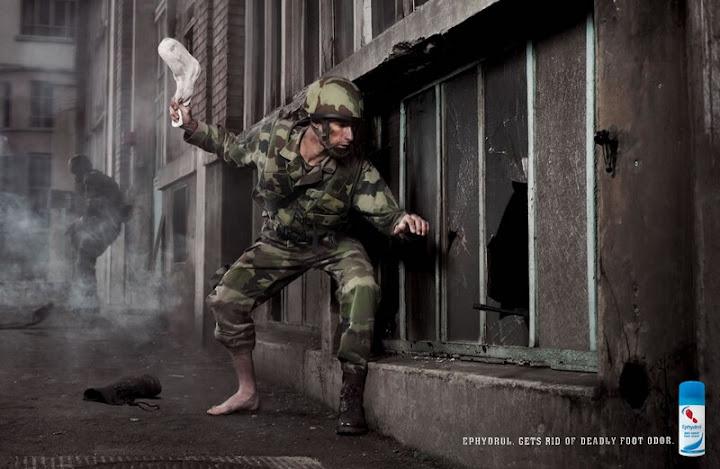 Ephydrol Reklamı, ayak kokusu önleyici reklamı