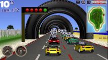 لعبة سباق سيارات التحدي