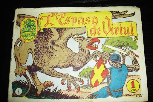 Tebeo Catalan L'Espasa de Virtut nº 3