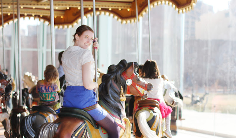 Mission Petal Shirt on Carousel