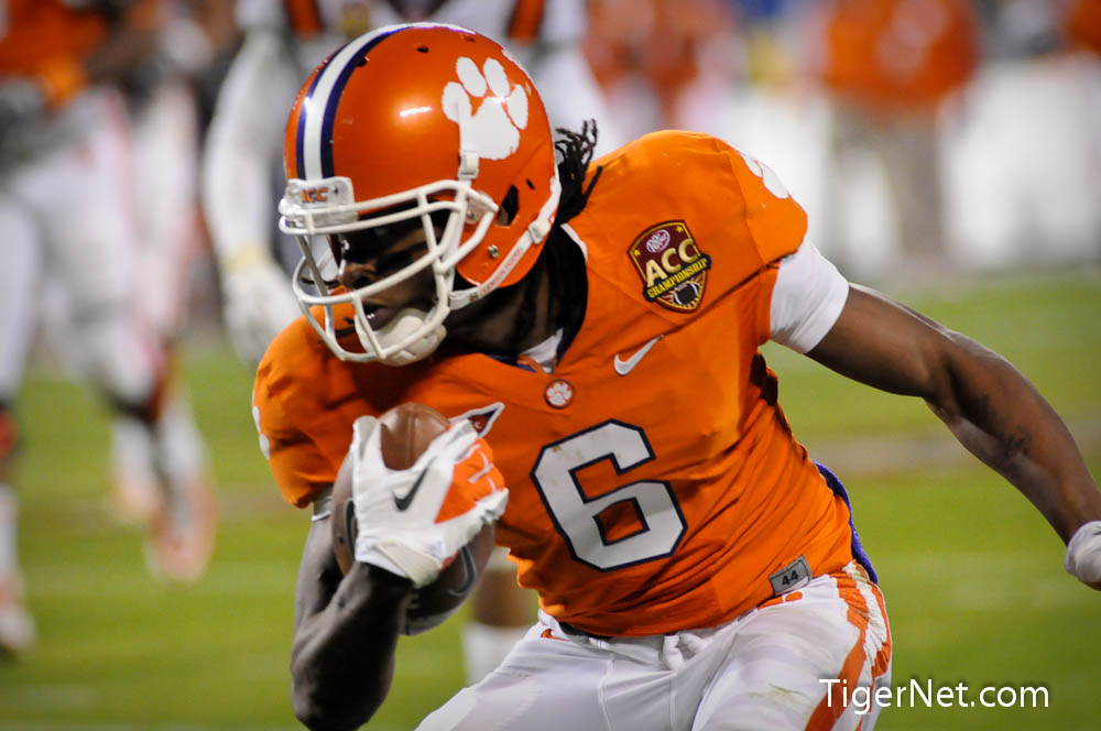 2011 ACC Championship - 2nd Half Photos - 2011, ACC Championship, DeAndre Hopkins, Football, Virginia Tech