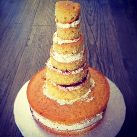 Naked Cake, Victoria Sandwich, Tower of Cake