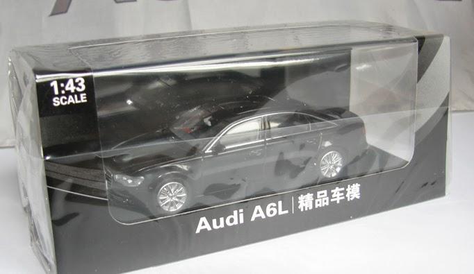 1/43 Audi A6 LWB ( C7 ) 2012 CHINA EXCLUSIVE - Scale143.com Audi A Black China on land rover china, mercedes c class china, audi a3 china, jeep cherokee china,