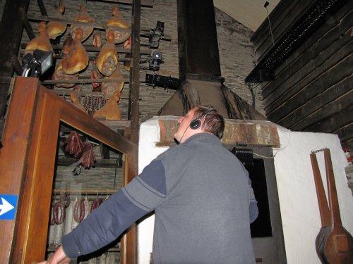 Bezoek aan de tentoonstelling over de Ardeense ham.