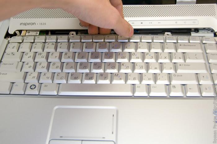 Как разобрать ноутбук Dell Inspiron 1525 13