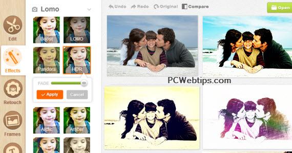 Agregar efectos a fotos on-line 62