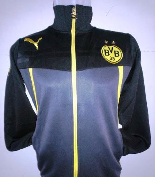 Jual Jaket Dortmund Training Warna Hitam 2014