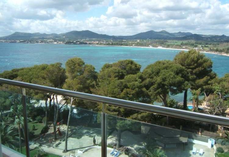 Meerblick-Appartement in Costa de los Pinos/ Costa dels Pins, Mallorca