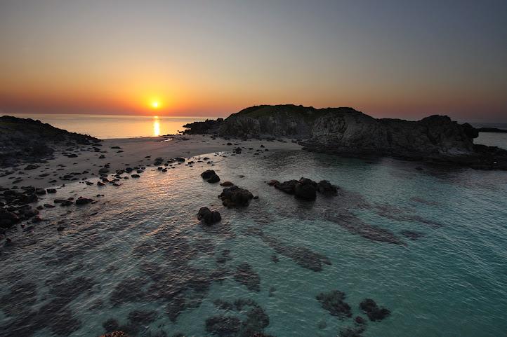 乙島の浜 朝焼け