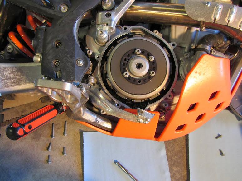 Ktm  Hydraulic Clutch Adjustment