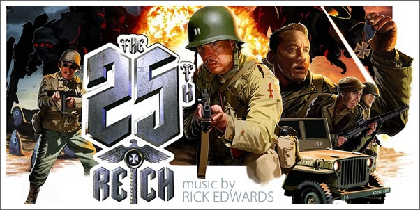 The 25th Reich (Soundtrack) by Ricky Edwards  - Review
