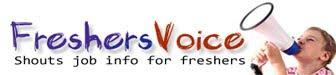 Link to Freshers Voice-Freshersvoice.com-24x7 Freshers Job Updates | Freshers materials