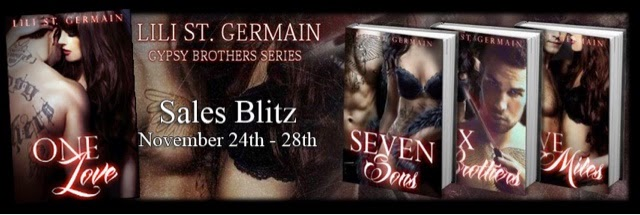 Blitz: Gypsy Brothers Series by Lili St Germain