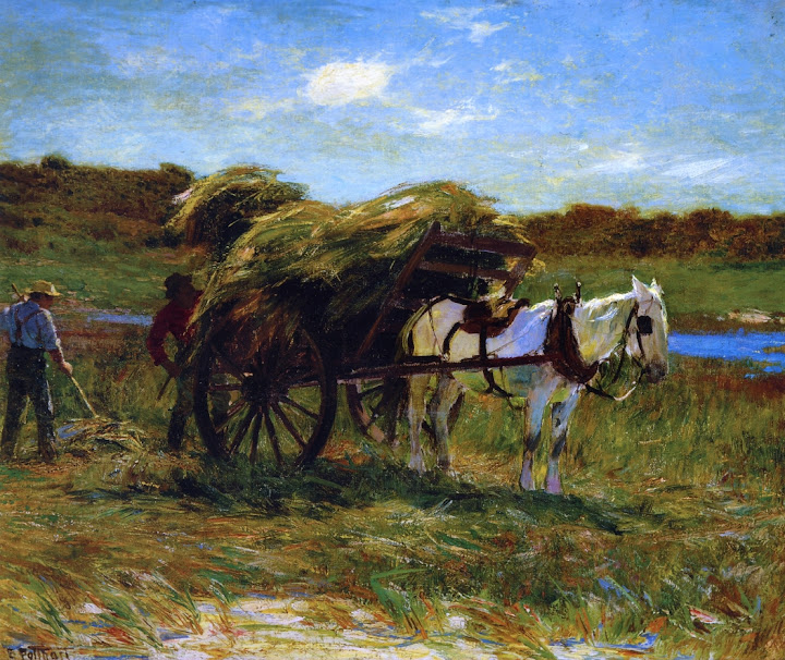 Edward Henry Potthast - In the Salt Marshes