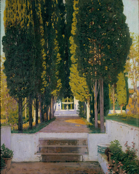 Santiago Rusiñol - Gardens of the Generalife
