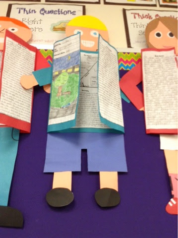 book projects for 5th grade