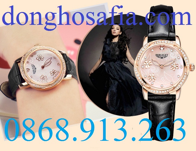 Đồng hồ nữ cơ Berliget 833