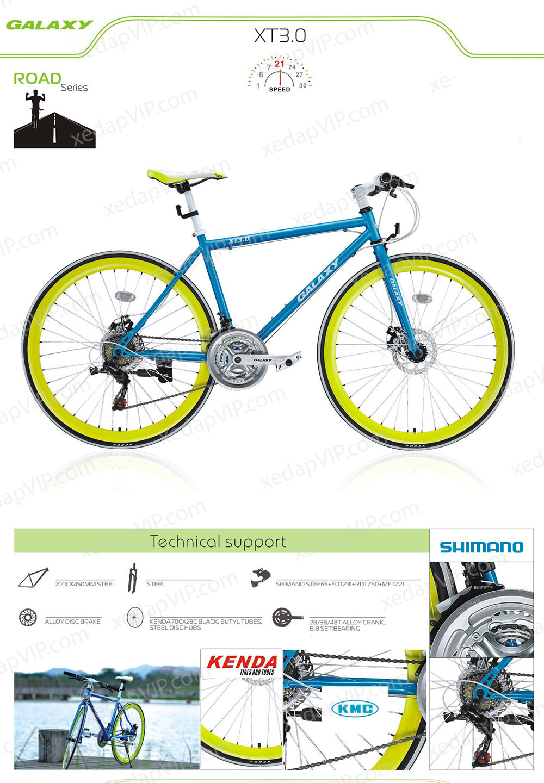 Xe dap the thao GALAXY XT3.0, xe dap the thao, xe dap trinx, xe đạp thể thao chính hãng, xe dap asama, xt3.0