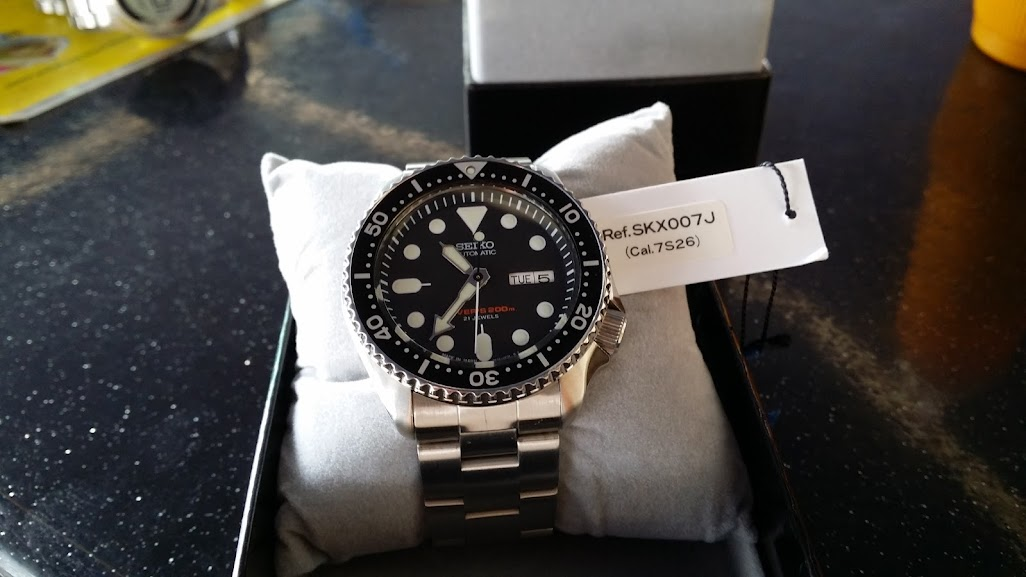 For Sale: Seiko SKX007J