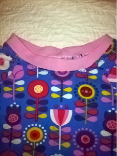 T-shirt sewed by Cicely Ingleside