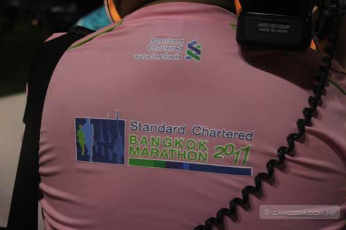 Media personnel - Standard Chartered Bangkok Marathon