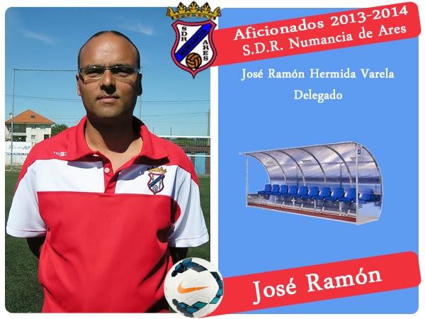 ADR Numancia de Ares. JOSE RAMON