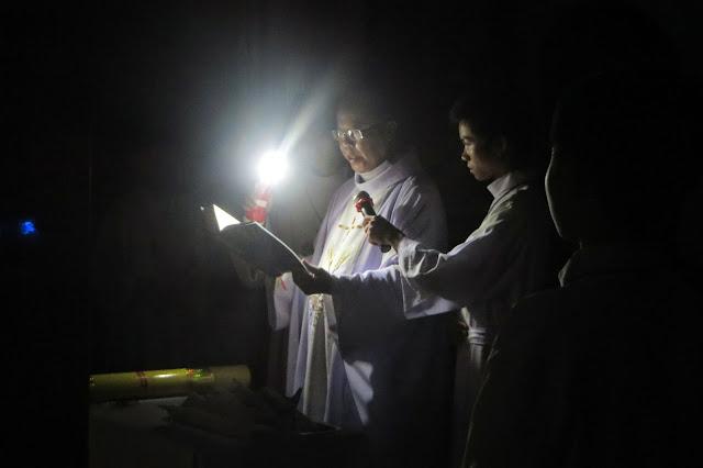 Hình ảnh Thánh lễ Phục sinh tại Giáo Xứ